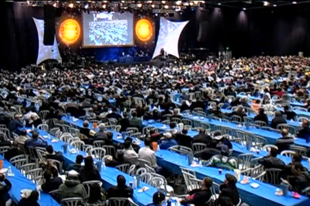 Main Hall at the World Zohar Convention 2014