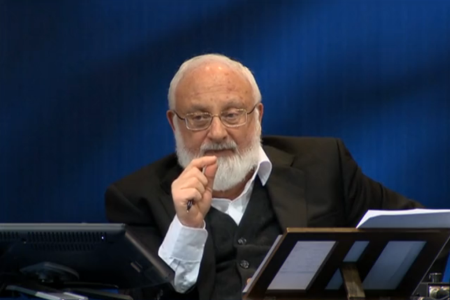 Dr. Michael Laitman at the World Zohar Convention 2014