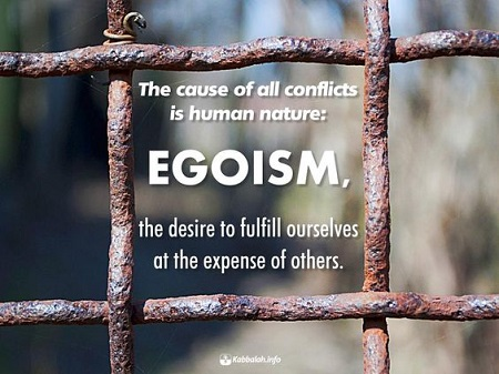 Egoism of a Part Leads to the Death of the Whole