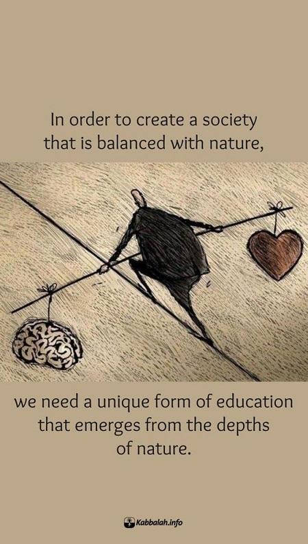 Natures Wayeducation For A World In Balance Kabbalah Blog