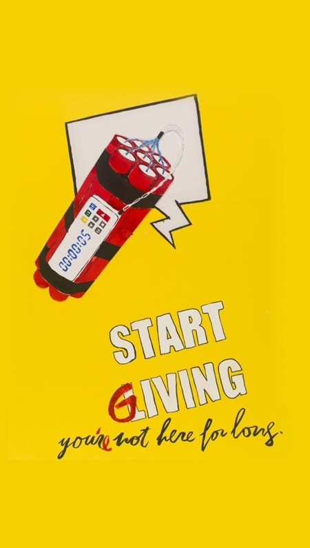 Start giving. You are not here for long by Zenita Komad