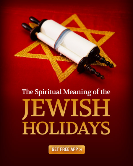 The Spiritual Meaning of the Jewish Holidays