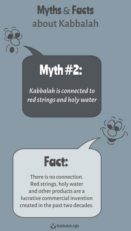 MYTH: Kabbalah Deals with Red Strings. FACT: Kabbalah Doesn't Deal with Red Strings [Kabbalah Myths and Facts #2]