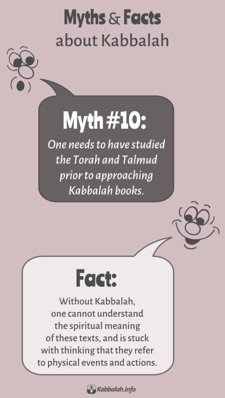 MYTH: You Need to Have Studied Torah and Talmud Before Studying Kabbalah. FACT: No You Don't [Kabbalah Myths and Facts #10]