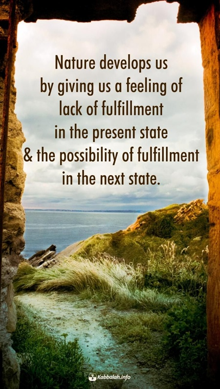 Fulfillment Quotes Glamorous Nature Develops Usgiving Us A Feeling Of Lack Of Fulfillment