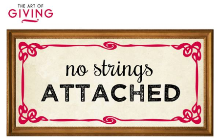 The Secret to Receiving Everything with No Strings Attached