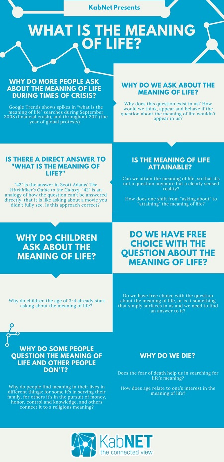 What Is the Meaning of Life - Infographic
