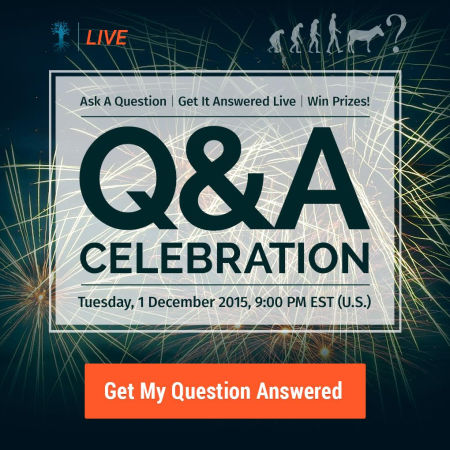 What Is the Meaning of Life, the Universe and Everything? - Q&A Celebration 2015
